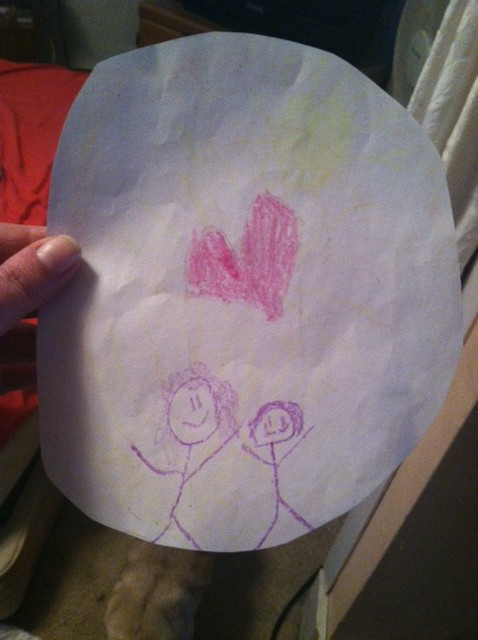 Son Drew Mama Sweet Picture