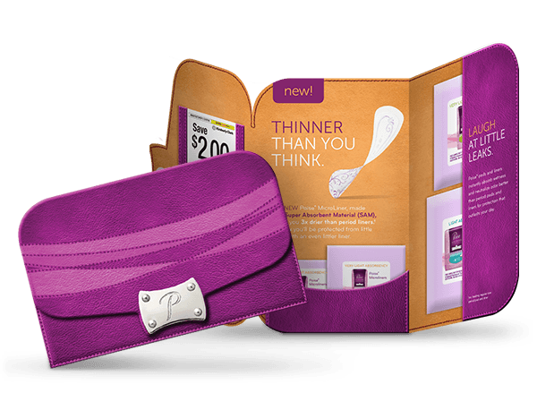 Poise Pad Sample Kit