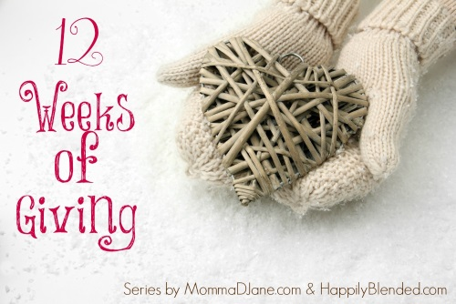 Giving back to Your Community #12WeeksGiving MommaDJane.com and HappilyBlended.com