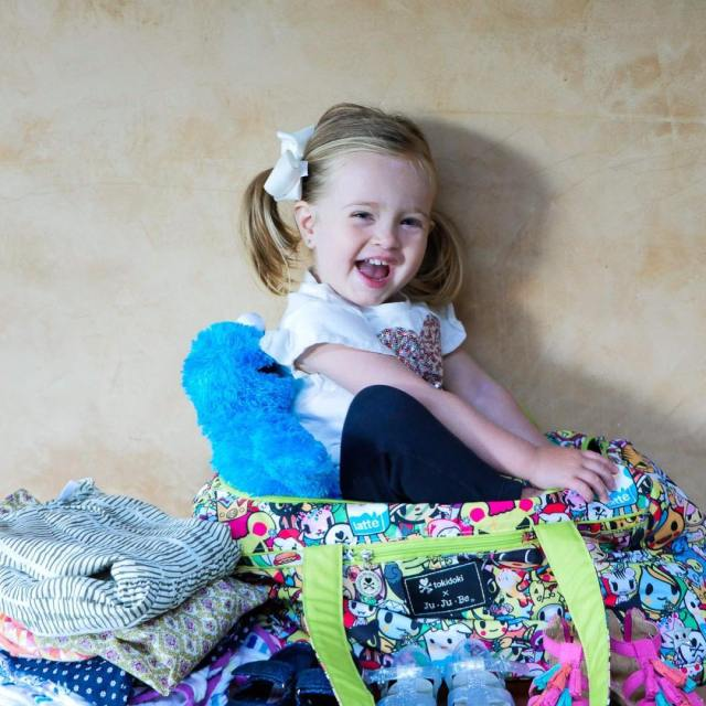 Precious cargo! Today on the blog Im demystifying Kids Packinghellip