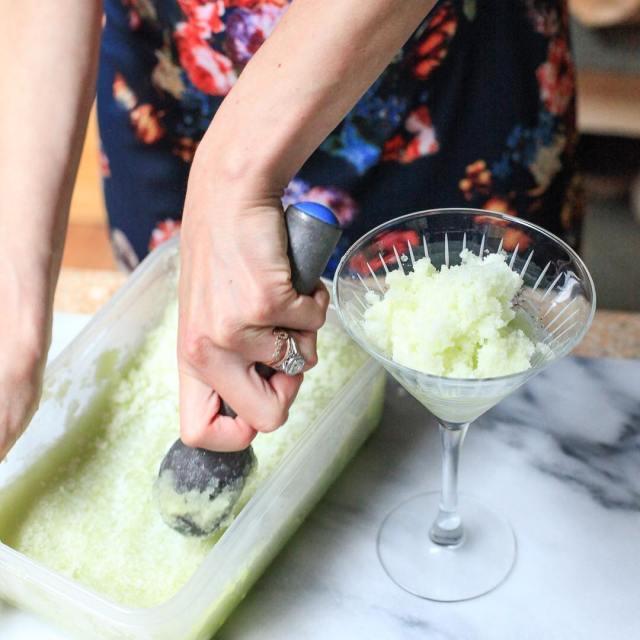 The most refreshing Cucumber amp Melon Granita Spritz is onhellip