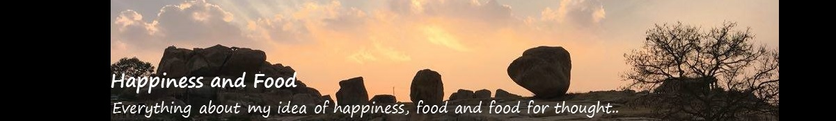 happiness and food