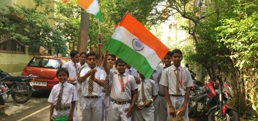 A group picture on Independence Day