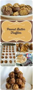 peanut butter truffles long image