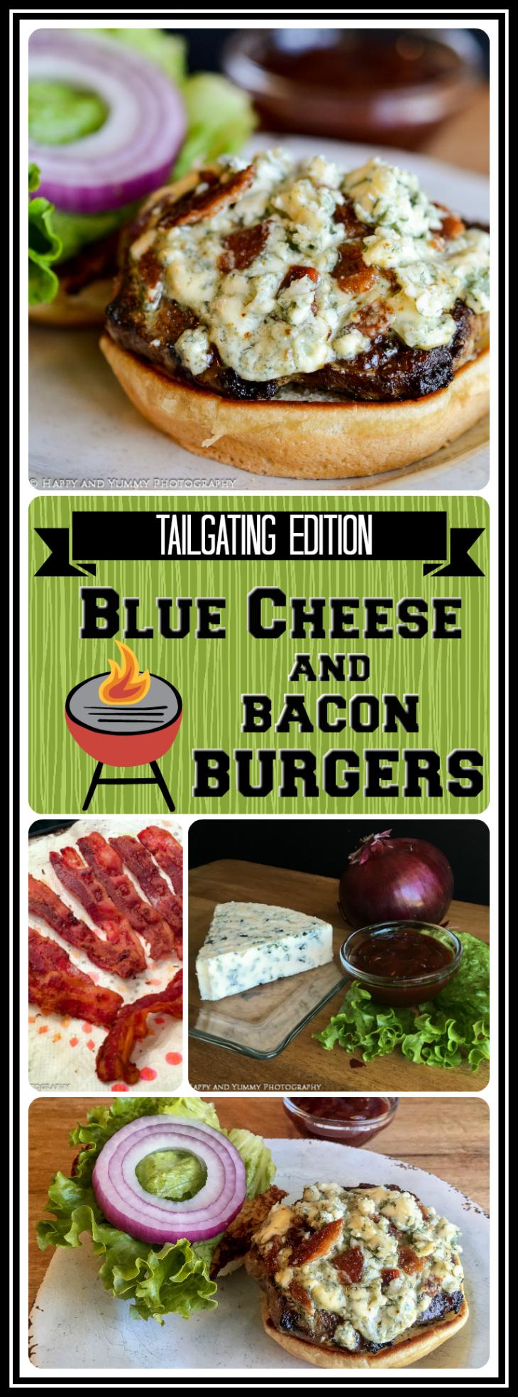 bacon blue cheese burger long