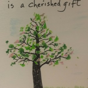 Green/Pink Tree (Anonymous) - Happy Art Shop