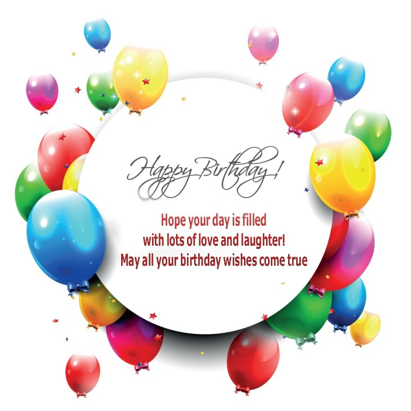 Large Of Simple Birthday Wishes