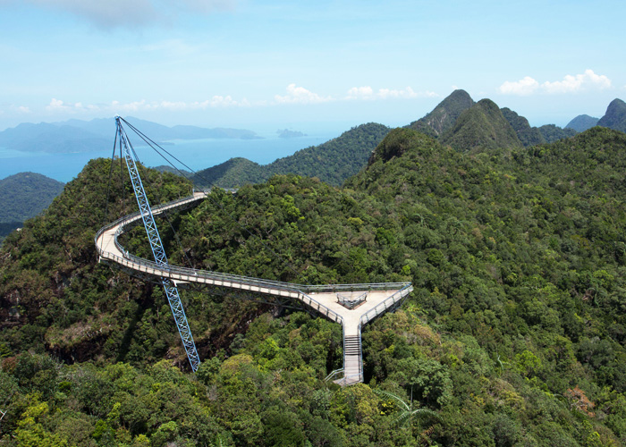 THe Sky Bridge - picture courtesy of Naturally Langkawi