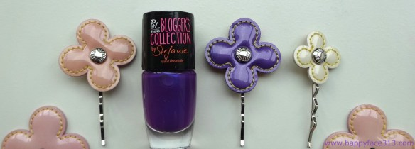 Louis Vuitton flowers & Rival de Loop Wisteria nail polish