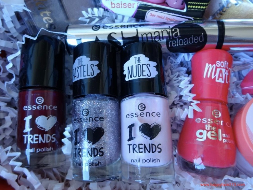 essence the darks, the pastels, the nudes, soft matt nail polishes