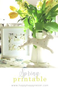 Spring Decorating Ideas. Change out three things in your home decor to get it ready for spring. These are easy steps that anyone apply with great results.