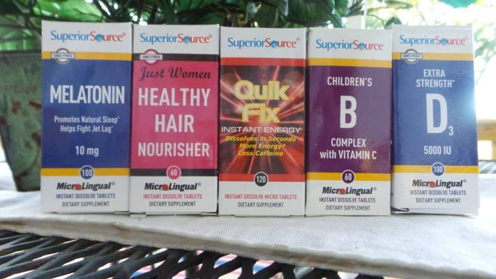 Superior Source Vitamins August Prize Pack Giveaway