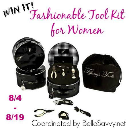 Tiffany's Tools - Home Tool Kit Giveaway