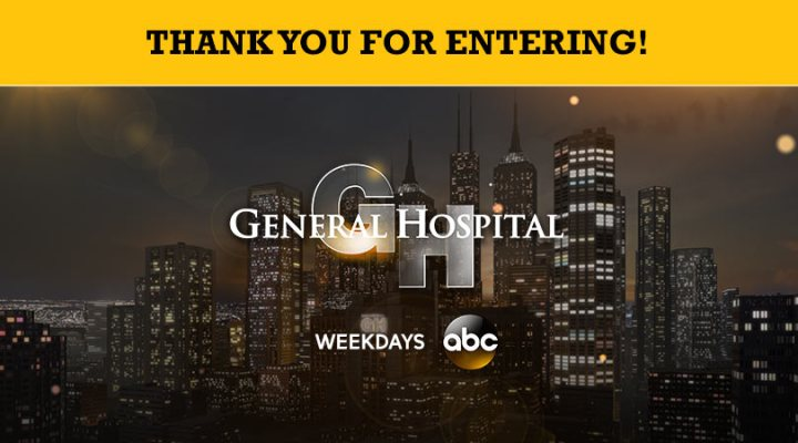 General Hospital – Win a Trip to LA to Visit the Set of General Hospital