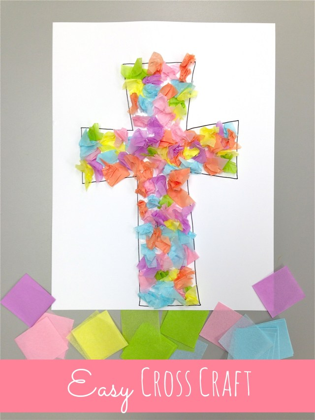 easy cross craft at happyhomefairy.com