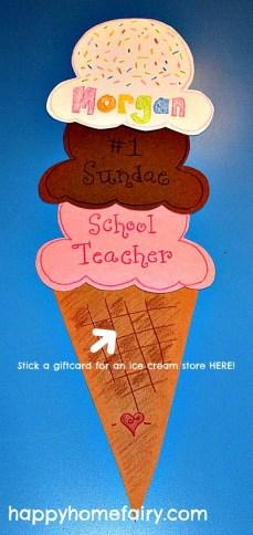 Sunday School Teacher Gift Idea