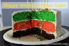The Happy Birthday Jesus Cake