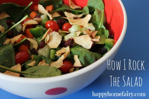 salad of awesomeness at happyhomefairy.com