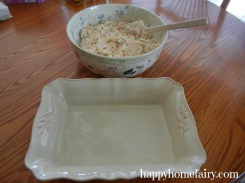 potato casserole dish