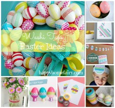 Washi Tape + Easter = Awesome