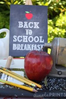Back to School Chalkboard Inspirations