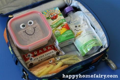 lunch box ideas at happyhomefairy - googly eyes