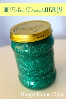 The Calm Down Glitter Jar