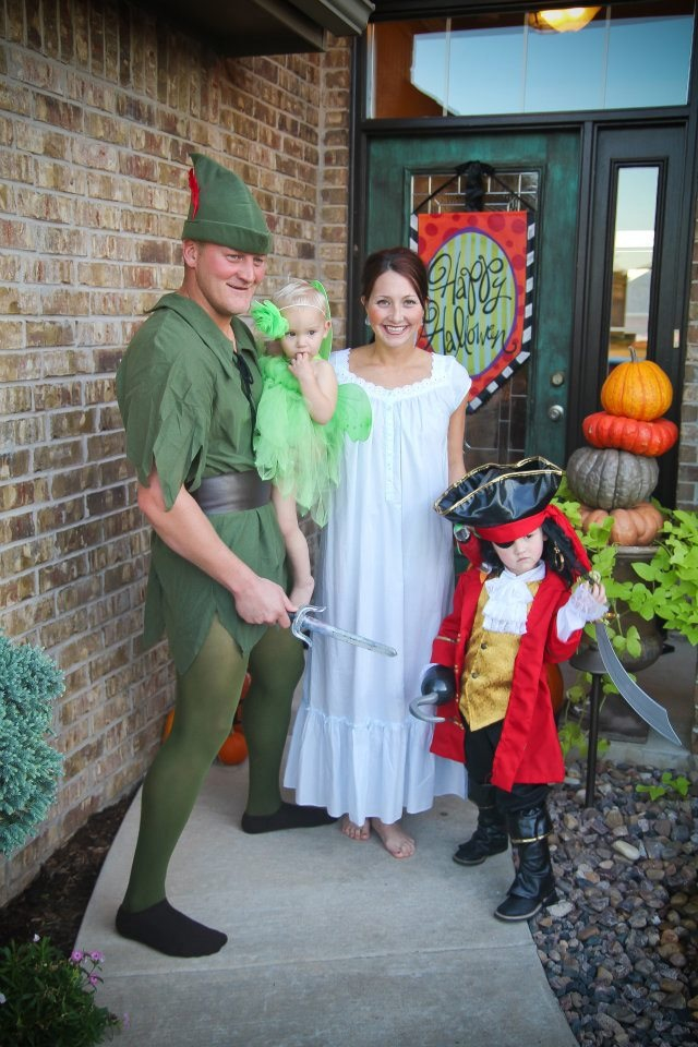 (via Happy Home Fairy)  sc 1 st  Fit Pregnancy and Baby & 15 Happening Halloween Costumes for Couples with Babies | Fit ...