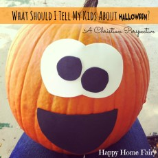 What to Tell Your Kiddos About Halloween (A Christian Perspective)