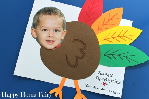turkey youself - such a cute craft to send to grandma this thanksgiving!!