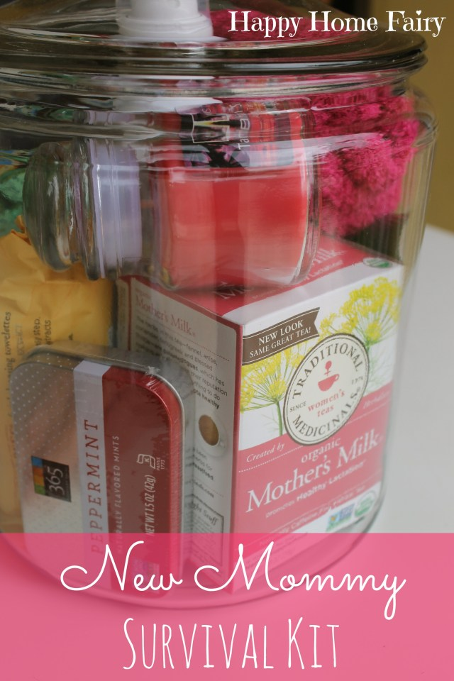 Baby Gift Ideas For Clients : New mommy survival kit happy home fairy