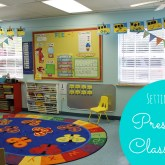 Setting Up the Preschool Classroom - GREAT ideas!!