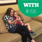 why I watch tv WITH my kids at happyhomefairy.com