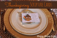 Thanksgiving Scripture Cards – FREE Printable