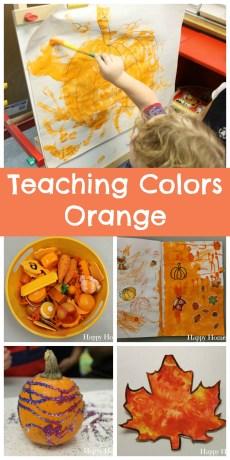 Teaching Colors – Orange