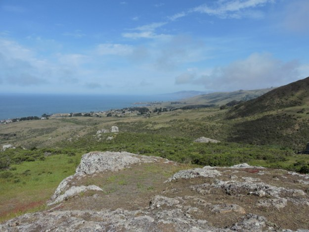 Magnificent view of the coast looking towards Jenner from Coleman Valley Road