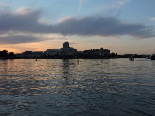 Inner Harbour sunset