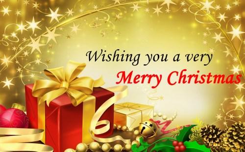 Medium Of Christmas And New Year Greetings