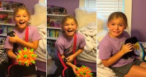 Girl Got The Cutest Surprise Ever. Her Reaction Is Heartwarming.