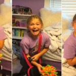 Girl Got The Cutest Kitten Surprise Ever. Her Reaction Is Heartwarming.