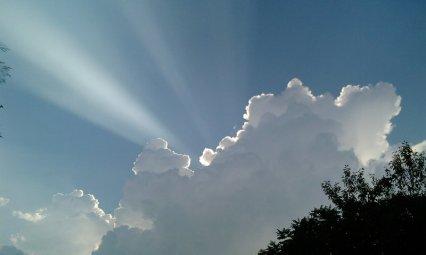 甲州市の空