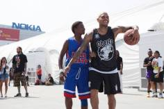 Chris Brown Hard Knock Hoops Basketball Kid