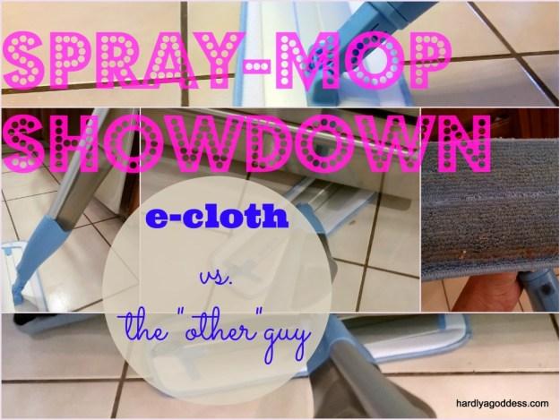 eCloth spray mop