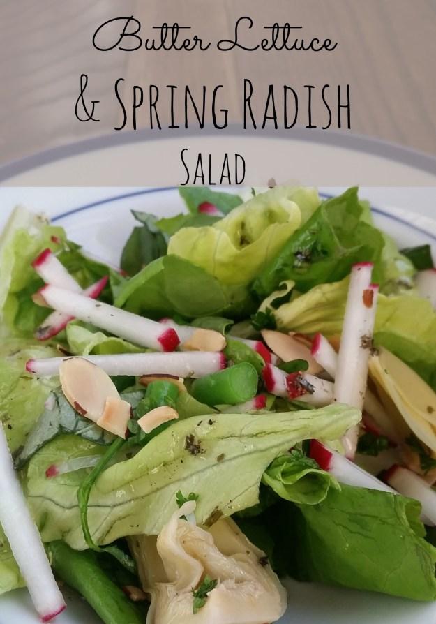 radish salad | Hardly a Goddess