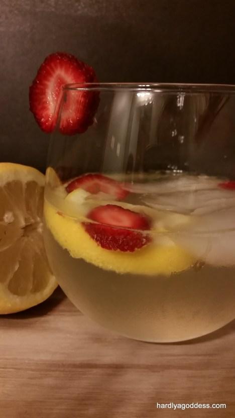 Lemony White Sangria