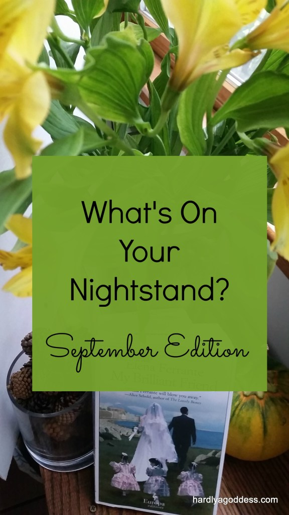 Nightstand books link to what are you reading book share