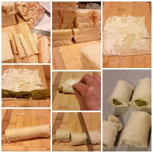Blue Cheese Asparagus Bites