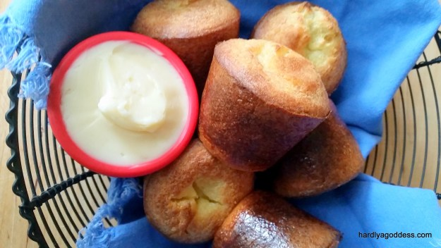 Popovers with Honey Butter