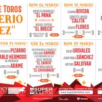 Feria de Texcoco 2016 - Corridas de Toros