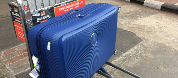 American Tourister Luggage (sumber: london-unattached)